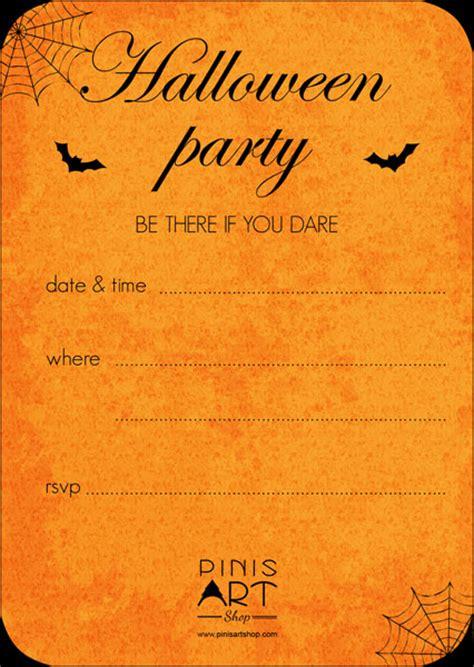 invito per halloween gratis scarica e stampa pini s