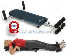 machine for back spinal decompression machine back traction bench