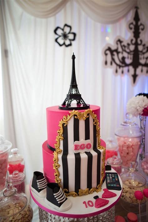 themes for a girl s 10th birthday party kara s party ideas paris 10th birthday party kara s