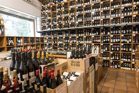 best wine store the best wine shops born barcelona appetite and other
