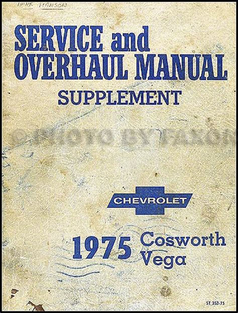 auto repair manual free download 1975 chevrolet monza electronic toll collection 1976 cosworth vega foldout wiring diagram original