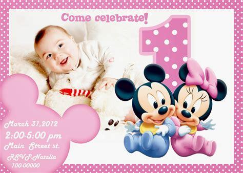 1st birthday invitations girl free template personalised free printable invitation mickey mouse free printable