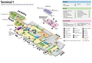Heathrow Terminal 5 Floor Plan Gallery For Gt Airport Terminal Map