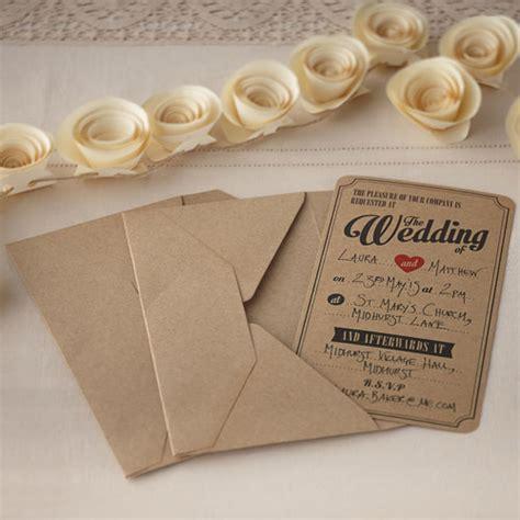 vintage wedding invitations diy www pixshark