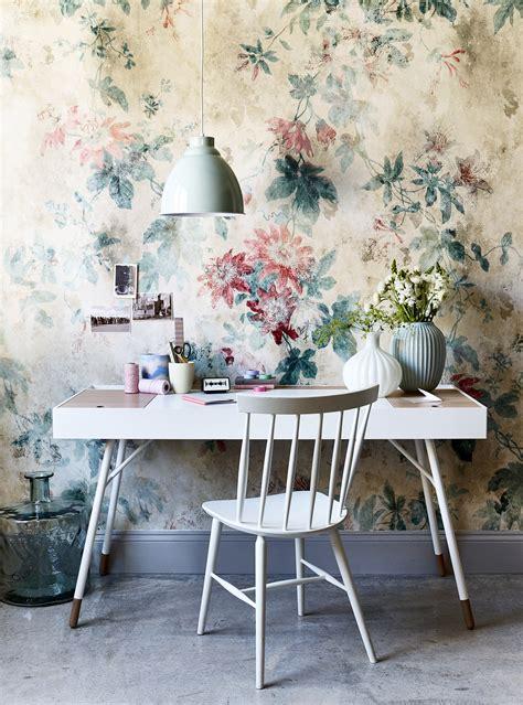 wallpaper  fabric inspiration  summer florals