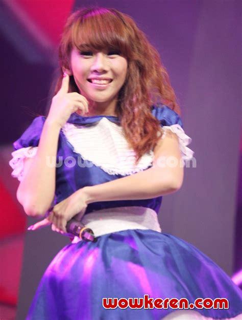 mariya nishiuchi film dan acara tv foto cherly cherry belle saat til di acara afi 2013