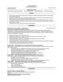 Sles Of Sales Resumes by Stylish Sales Rep Resume Resume Format Web