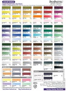 pastel color chart panpastel colors ultra soft artists painting pastels