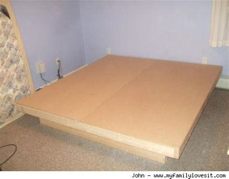 Make Your Own Platform Bed Frame Platform Bed Diy How To Make A Platform Bed