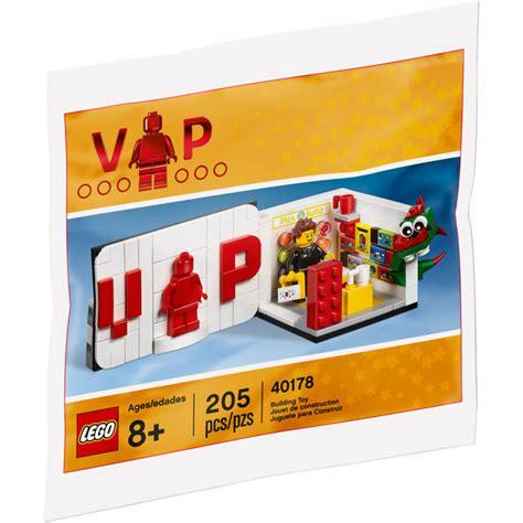Exclusive Set lego exclusive vip set 40178 brick owl lego marketplace