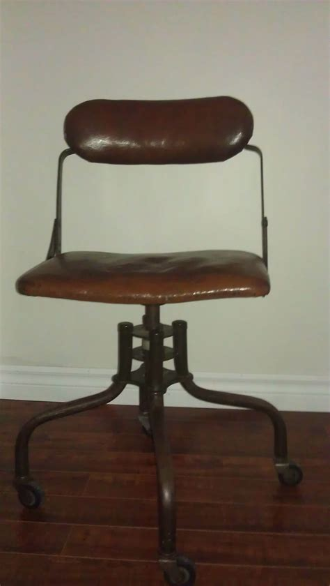 1930 s american industrial office chair for sale