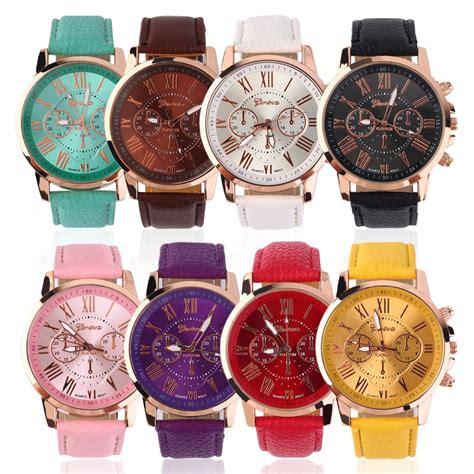 Jam Tangan Cewek Quartz timemaster geneva jam tangan analog quartz wanita cewek