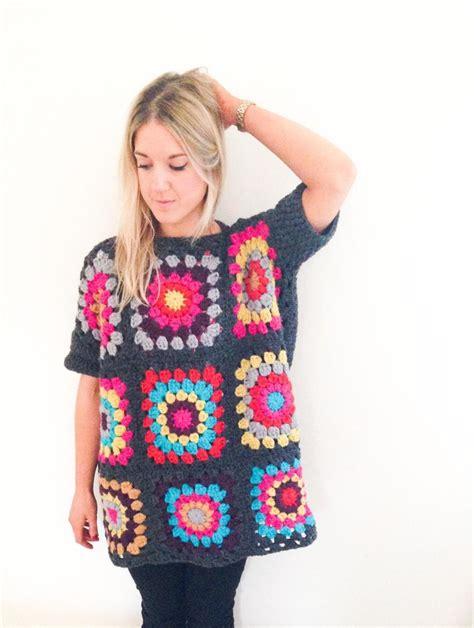 oversized jumper pattern frank olive oversized granny square jumper pattern crochet