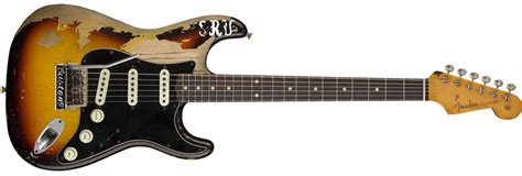 limited edition stevie ray vaughan strat stratocaster electric guitars fender guitars