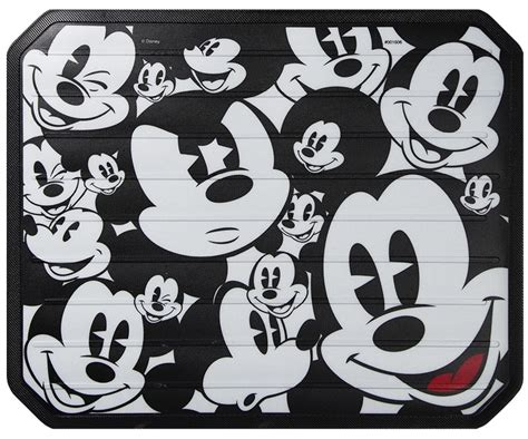 Disney Mickey Mat - my cool car stuff mickey expressions rear mat mickey