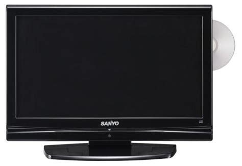 sanyo lcdvtdvd  lcd dvd combo television