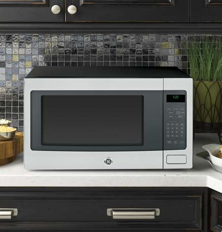 Can Countertop Microwaves Be Built In by Built In And Countertop Microwaves Ge Appliances