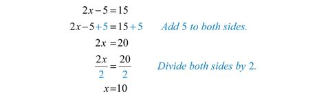 Solution X 601 solving linear equations part i