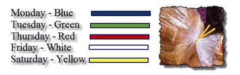1000 ideas about bread tie colors on survival