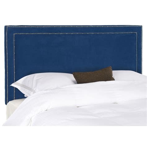 Blue Headboard by Mattresses Susan Safavieh Royal Blue Headboard