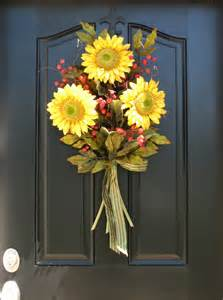 Front Door Decorations For Summer 1000 Images About Sunflower Door Decoration On Summer Front Door Wreaths And Front