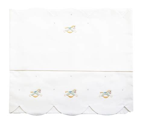 lenzuolini ricamati per culla lenzuolino da bambino per culla carrozzina o lettino con
