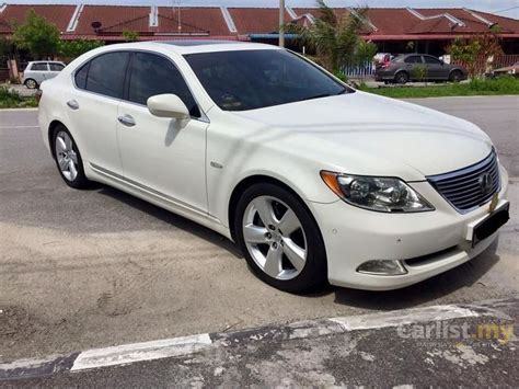 lexus sedan 2008 lexus ls460 2008 4 6 in selangor automatic sedan white for