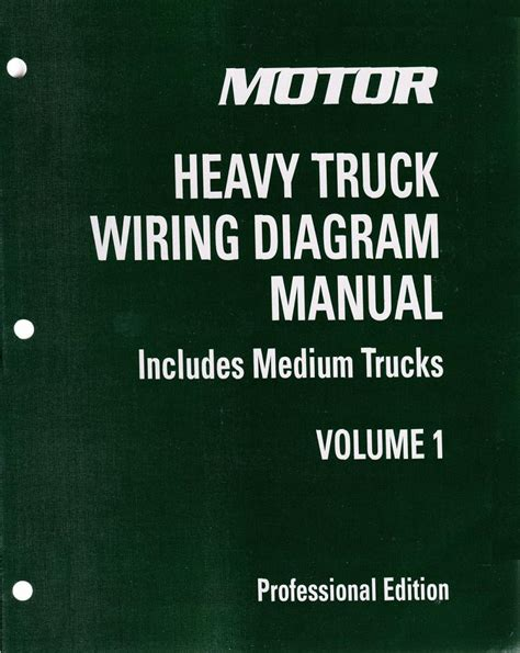 2009 2013 motor medium heavy truck wiring diagram