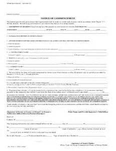 2011 form fl notice of commencement fill online printable