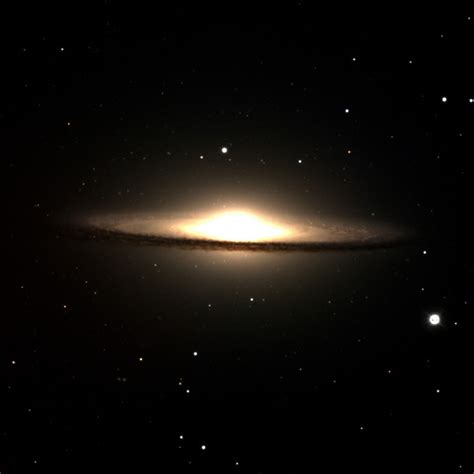sombrero galaxy through telescope sombrero galaxy hidden double in a hat