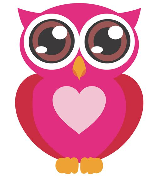 cute owl cartoon clipart best pics for gt cute pink owl cartoon pictures clipart best