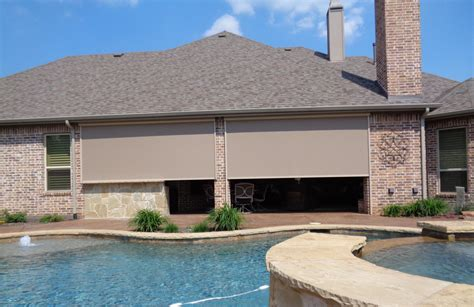 exterior blinds and awnings shade works of texas retractable shades and awnings