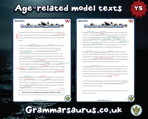 Explanation Letter Ks2 Ks2 Model Texts Archives Page 2 Of 3 Grammarsaurus