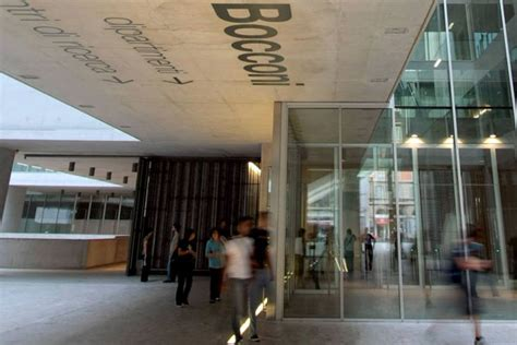 Mba Italy Bocconi by Visiting Colleges In Italy One Really Stands Out