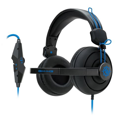Headset Gx Gaming enhance gx h3 stereo gaming headset with ear headphones adjustable mic ebay