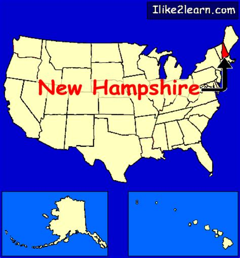 us map states new hshire new hshire