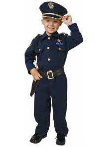 toddler deluxe officer costume