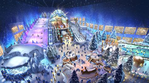 revealed whats  reem malls snow park  abu dhabi