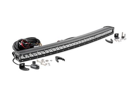 30 Inch Led Light Bar by 30 Inch Chrome Series Single Row Curved Cree Led Light Bar