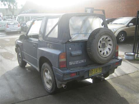 Suzuki Vitara Soft Top Parts 187 Suzuki Vitara 2dr Soft Top 1 6i A Blue Wrecking In Sydney