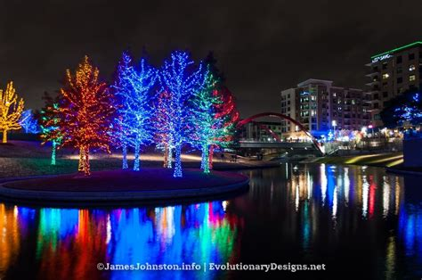 pringles park christmas lights the christmas lights at vitruvian park in addison texas