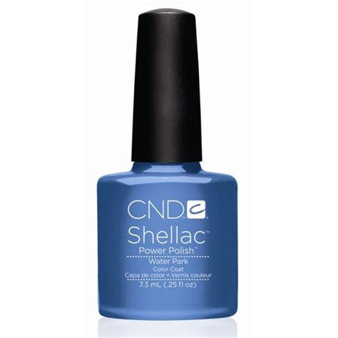 Cnd Gel L by Cnd Shellac Uv Color Coat Water Park L Gel Nails