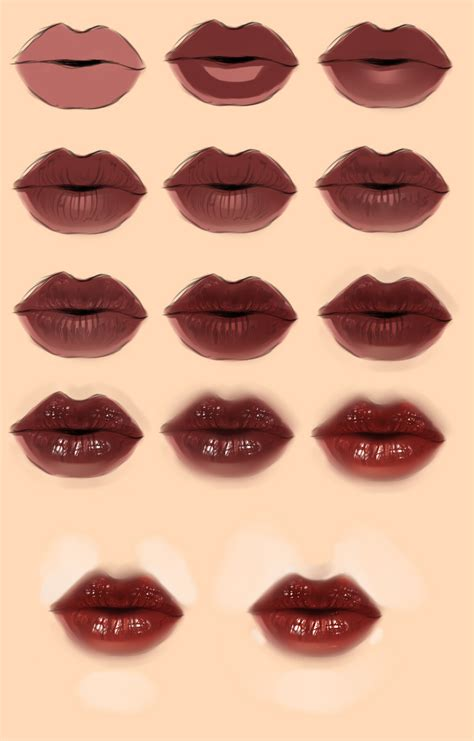 watercolor lips tutorial lips tutorial by ryky on deviantart