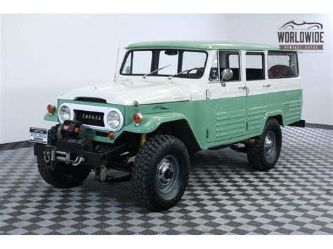 Vintage Toyota Land Cruiser For Sale Classic Toyota Land Cruiser Fj45 For Sale On Classiccars