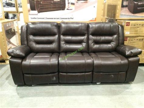 pulaski leather reclining sofa costco costco leather sofa roselawnlutheran
