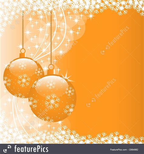 orange ornaments balls 4 pcs baubles set 12cm in highgloss orange
