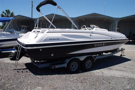 donzi deck boats donzi deck boat boats for sale