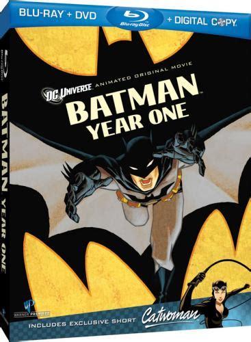 portada y detalles de batman year one en blu ray cine premiere