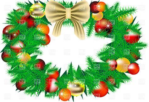 Free Vector Christmas Wreaths » Home Design 2017