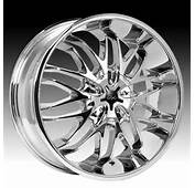 Chrome Xpressions 818C 818 Chaos Custom Rims Wheels